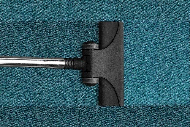 vlekken in tapijt