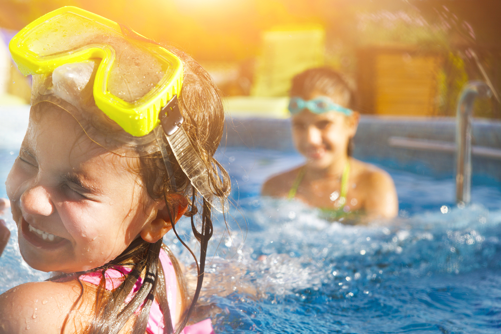 zwembad te verwarmen