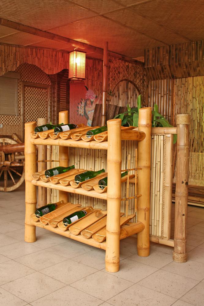 bamboe kast